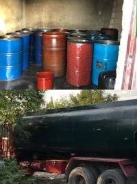 Haiti - FLASH : Discovery of a large stock of fuels for the black market