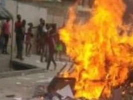 Haiti - Social : The office of the Deputy of St. Marc ransacked and looted