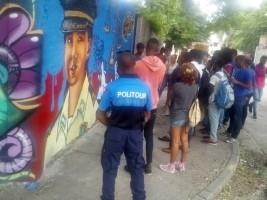 iciHaiti - Security : «Festi Graffiti Haiti», mission accomplished for PoliTour
