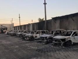 iciHaïti - Économie : L'entreprise  de location d'autos «AVIS» incendiée