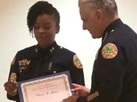 iciHaïti - Diaspora : Une américano-haïtienne entre dans l'histoire de la police de Miami