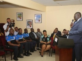 iciHaiti - Politic : Installation of the new acting Minister of tourism