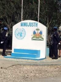 Haiti - Justice: The Minujusth willing to support peaceful solutions Haitian to solve the crisis