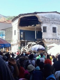 iciHaiti - Cap-Haitien : A house collapses at least 2 victims