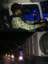 iciHaïti - Armée : Le Corps du Génie militaire débloque les routes