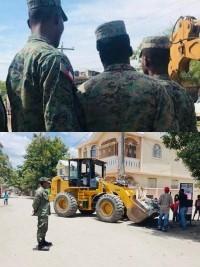 Haïti - Armée : Le Corps de génie militaire au secours de la population