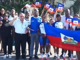 Haïti - Cuba : Championnat Caribéen de Cyclisme, Haïti sur le podium