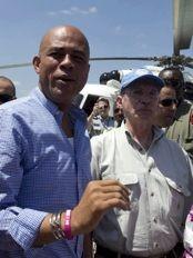 Haiti - Economy : Back on visit to Hinche of Martelly