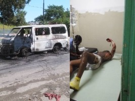 Haïti - FLASH : Attentat au cocktail molotov contre un mini-bus remplit de passagers
