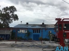 Haiti - Security : Fire of the JCI American company at the International Airport