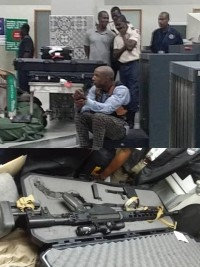 Haiti - FLASH : A former US Navy arrested at the International Airport in possession of weapons of war