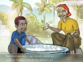 iciHaiti - Lakou Kajou : An educational program in Creole for young Haitian children