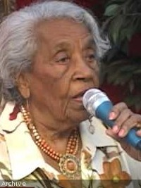 Haiti - FLASH : Message of Odette Fombrun (102 years), to the gravediggers of the Motherland