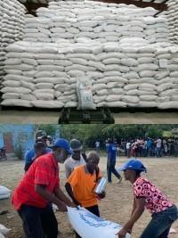 iciHaïti - Humanitaire : Début de la distribution de vivres d'urgence