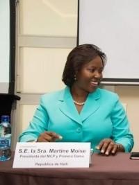 iciHaïti - Santé : La Première Dame Martine Moïse au Panama