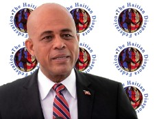 Haiti - Politic : Michel Martelly meets the Haitian Diaspora Federation