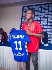 iciHaiti - Football U-17 : Fredler Christophe joins the Racing Club of Strasbourg (D1)