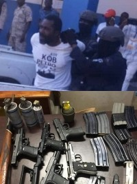 Haiti - FLASH : Bélizaire arrested in possession of an arsenal of war