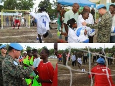 Haiti - Sport : ROKENGCOY builds soccer field for town of Gressier