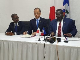 Haiti - Humanitarian : Donation of Japan of $3.6M for the purchase of rice