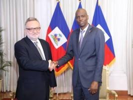 Haïti - Diplomatie : Nouvel Ambassadeur de l'Argentine accrédité