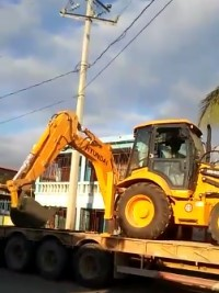 Haiti - Politic : Delivery of Public Works Equipment in the North West