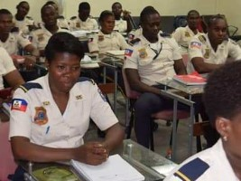 iciHaiti - PNH : Training in airport security for 62 police officers