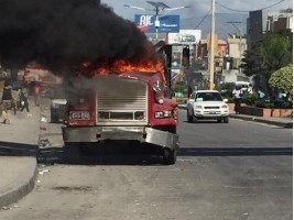 Haiti - FLASH : Vandalism and violence, the manifest opposition against international interference