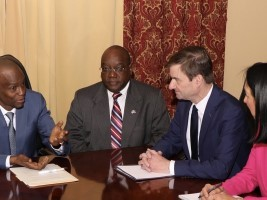 Haiti - Politic : David Hale #3 of the State Department, spoke with Jovenel Moïse