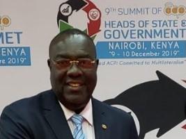 iciHaiti - Politic : Chancellor Bocchit Edmond in Kenya