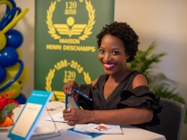 iciHaiti - Literature : Fedia Stanislas receives the Henri Deschamps Literary Award 2019