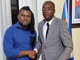 iciHaïti - Culture : «Manno Beats» reçu par le Ministre de la Jeunesse