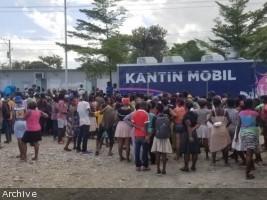 Haïti - Social : Distribution de dizaine de milliers de plats chauds et de rations sèche