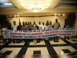 iciHaïti - Football : Lancement de la «Coupe de la Paix et de la Réconciliation» dans les quartiers difficiles