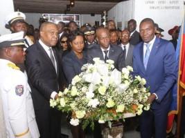 iciHaïti - Jour des Aïeux : Offrande Florale du Chef de l'État