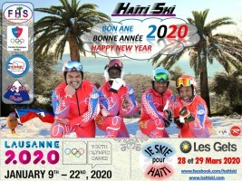 Haiti - OG «Lausanne 2020» : A 17-year-old Haitian skier qualified for the Winter Olympic Games