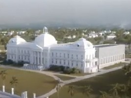 Haiti - FLASH : The 4 finalist reconstruction projects of the National Palace in video