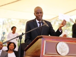 Haiti - January 12, 2020 : From Solidarity to Hate, speech of Jovenel Moïse