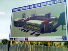 iciHaïti - Petit-Goâve : L'achèvement du Lycée Roseline Vaval complètement oublié !