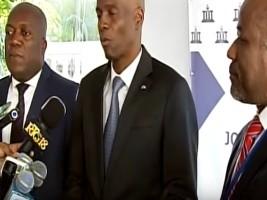 Haiti - Politic: Jovenel Moïse visited the Unit for Combating Corruption