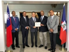 Haiti - Textile Industry : Taiwan releases funds for ADIH and training