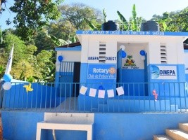 Haiti - Politic : Commissioning of modern sanitary blocks in 3 schools