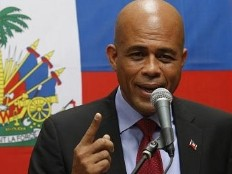 Haiti - Flag Day : President Martelly to Arcahaie, the highlight of his speech