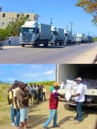 iciHaïti - Social : 17,500 rations sèches distribuées dans le grand Nord