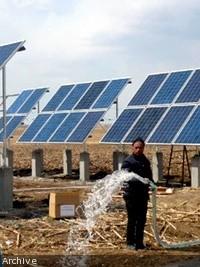 iciHaiti - Agriculture : Moïse promises 150 solar pumps for irrigation