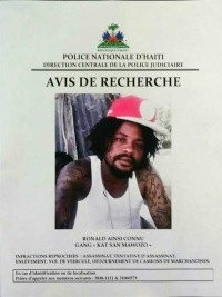 Haiti - Security : Wanted notice for several gang leaders and dangerous criminals