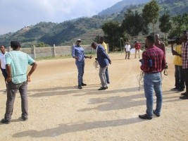 Haiti - Kenscoff : Towards the construction of local sports infrastructure