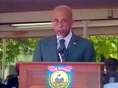 Haiti - Security : Speech of President Martelly to the the 22nd promotion of the police