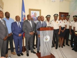 Haiti - Politic: PM Lapin, announces measures to combat insecurity