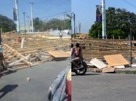 iciHaiti - Social : Demonstration and vandalism against insecurity and the Carnival 2020